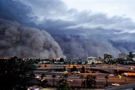 Phoenix Arizona Monsoon Photos and Videos