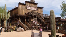 Apache Junction Arizona Goldfield Ghost Town