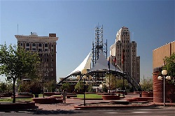 Phoenix Downtown Patriot Square Park