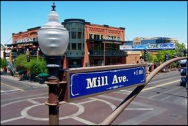 Tempe Arizona Downtown Mill Avenue